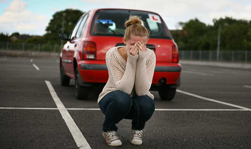 All You Need To Know About Failing A Driving Test In The UK
